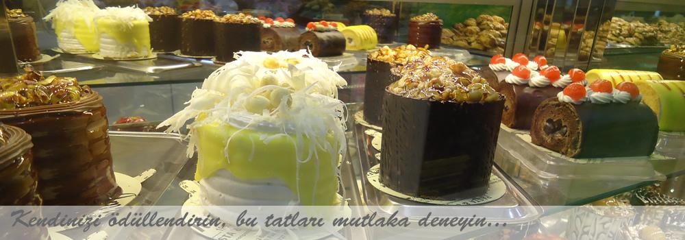 İmren Pastanesi eşsiz lezzetlerini deneyin...