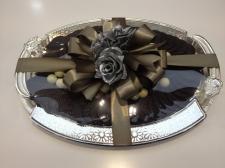 Gümüş Tepside Çikolata Çeşitleri