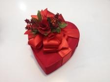 Kalp şeklinde çikolata paketi