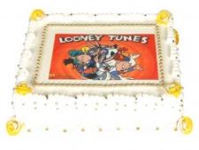 Looney Tunes Çizgi Kahramanlı Yaş Pasta