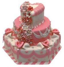 Nişan Düğün Pastası Model 001