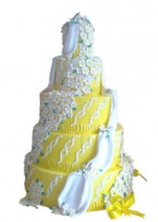 Nişan Düğün Pastası Model 009